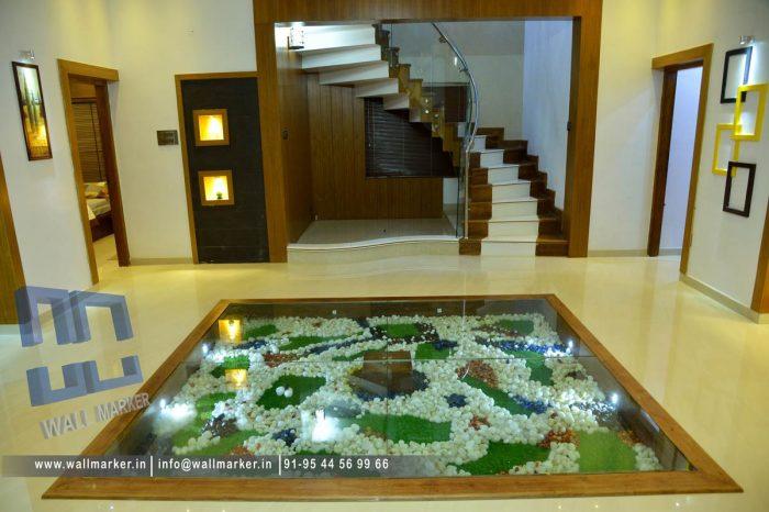 interior work at champad Thalassery,kannur
