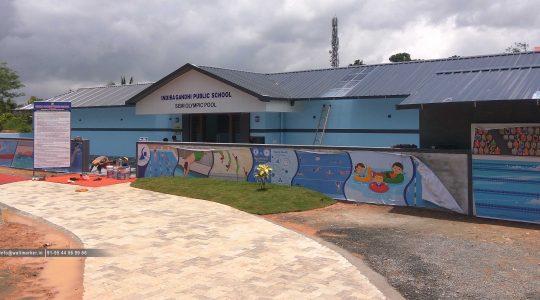 indiragandhi public school designing