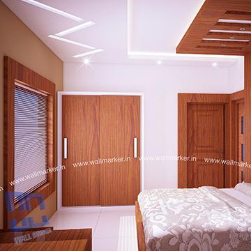 Bridal Bedroom Interior Designers Builders In Thalassery Kannur Calicut