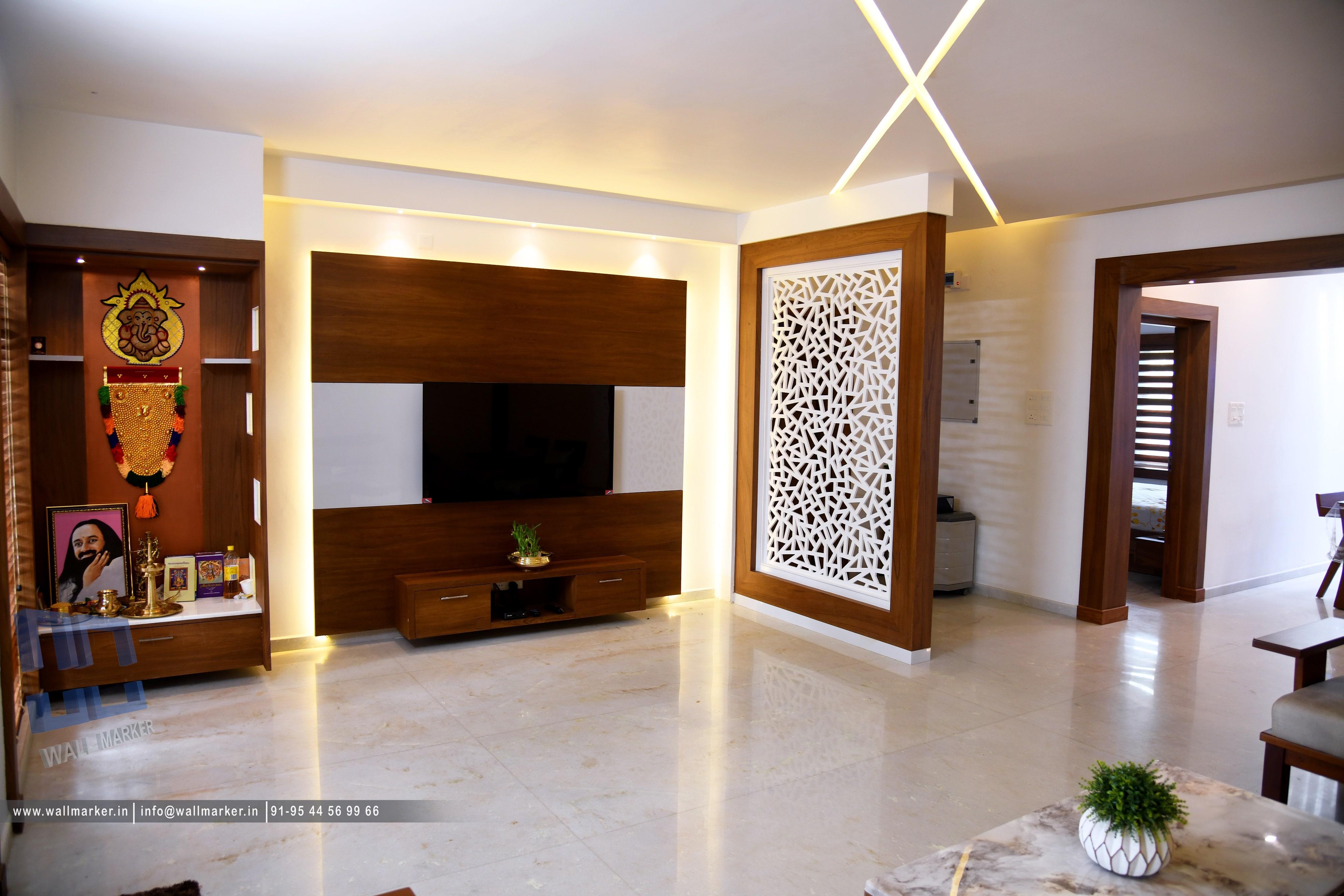 Living room design-Chakkarakkal