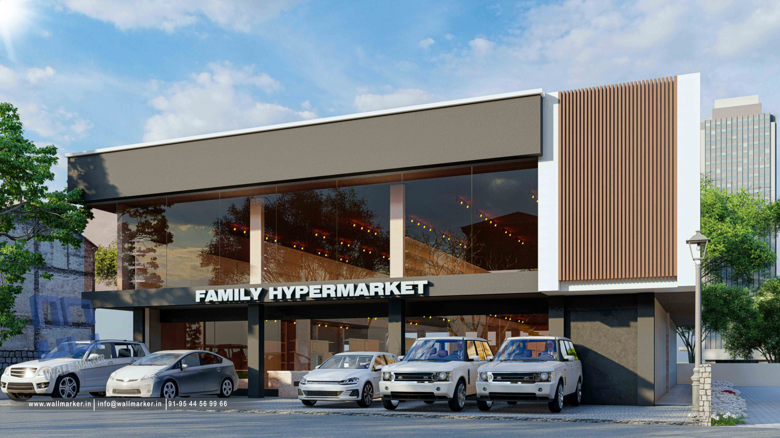 ON GOING HYPERMARKET PROJECT AT NADHAPURAM